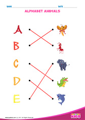 Match Alphabet Animals